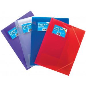 3 Flap Elasticated A4 Files