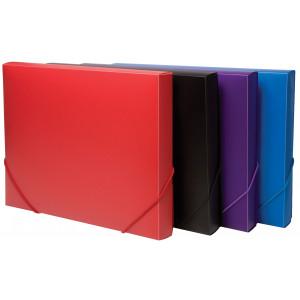 Elasticated A4 Box Files